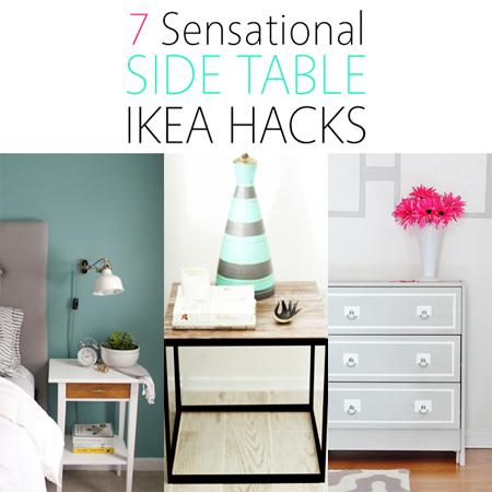 7 Sensational Side Table IKEA Hacks