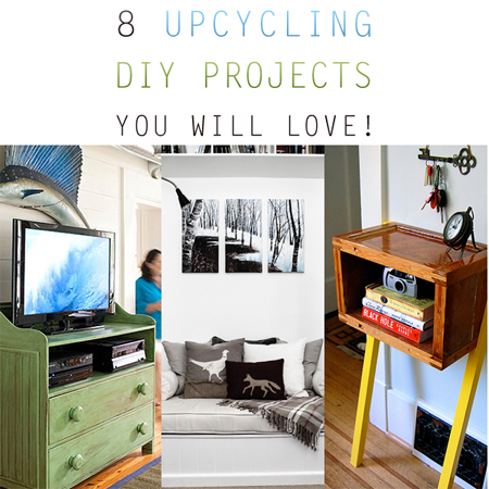 8 Upcycling DIY Projects You Will Love
