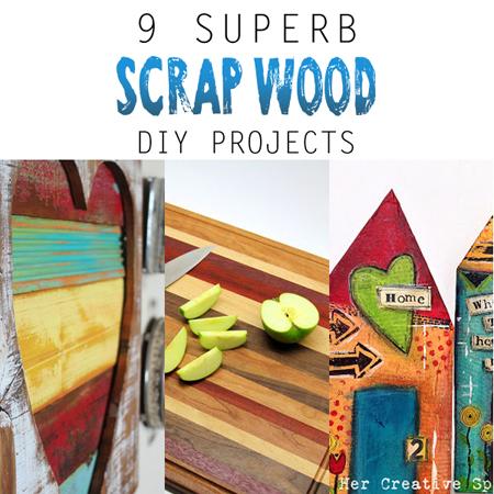 9 Superb Scrap Wood DIY Projects