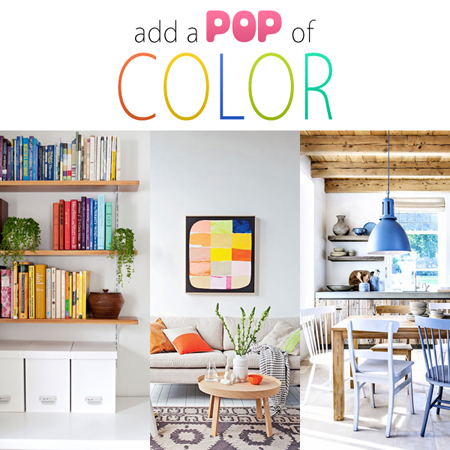 Add a Pop of Color