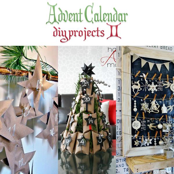 Advent Calendar DIY Projects 2