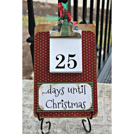 Advent Calendar DIY Projects