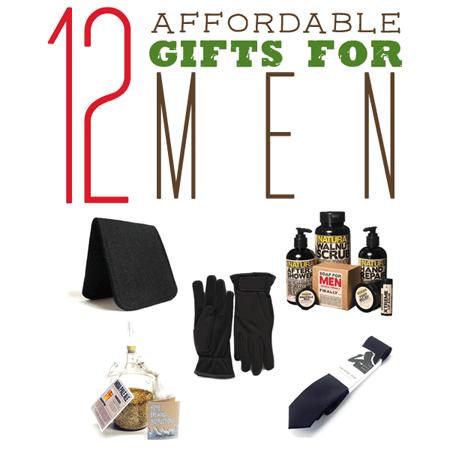 Affordable Gifts For Men