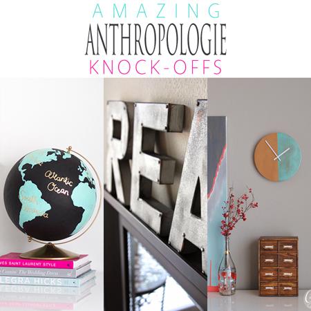 Amazing Anthropologie Knock-Offs