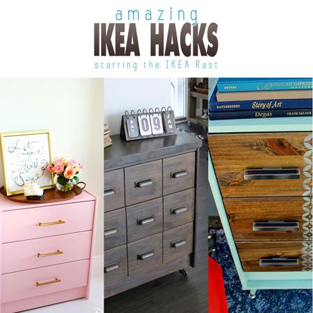 Amazing Ikea Hacks starring the Ikea Rast