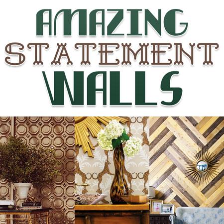 Amazing Statement Walls