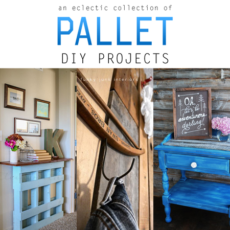An Eclectic Collection of Pallet DIY Projects