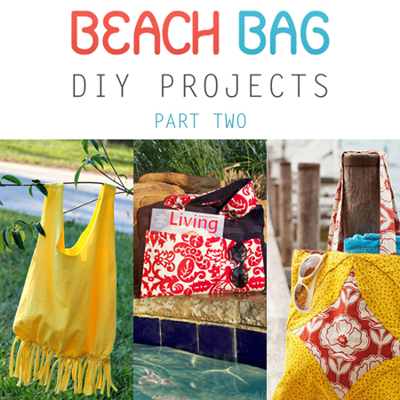 Beach Bag DIY Projects Part Two