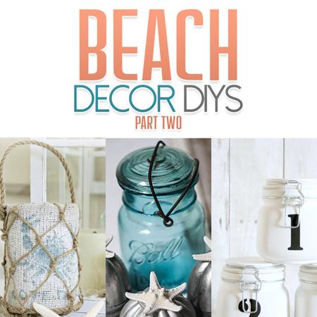 Beach Decor DIYs Part Two