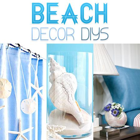 Beach Decor DIYs