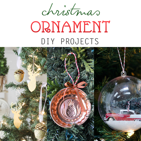 Christmas Ornament DIY Projects