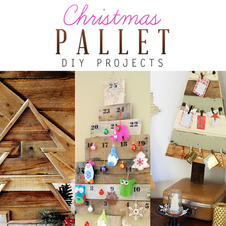 Christmas Pallet DIY Projects