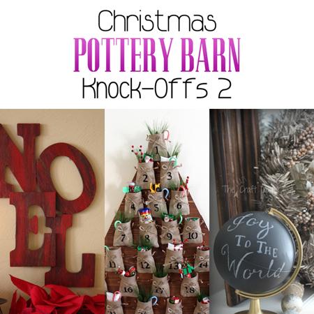 Christmas Pottery Barn Knock-Offs 2