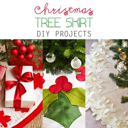 Christmas Tree Skirt DIY Projects