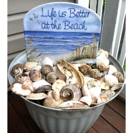 Cottage Chic Beach Decor DIY Proects
