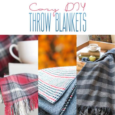 Cozy DIY Throw Blankets
