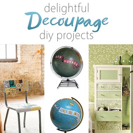 Delightful Decoupage DIY Projects