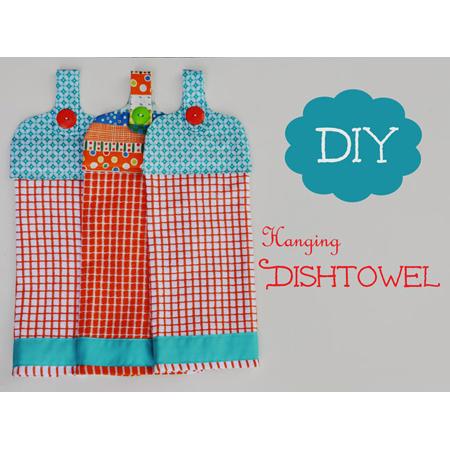 Dish Towel DIY Project 11