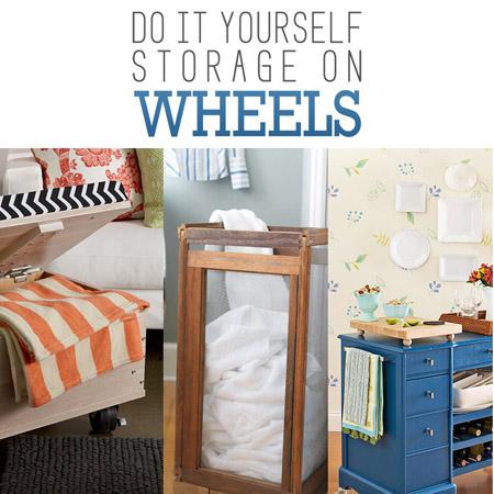 Do it Yourself Storage on Wheels