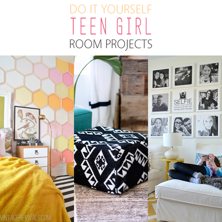 Do It Yourself Teen Girl Room Projects