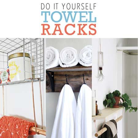 Do It Yourself Towel Racks