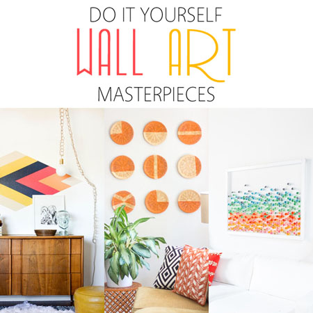 Do It Yourself Wall Art Masterpieces