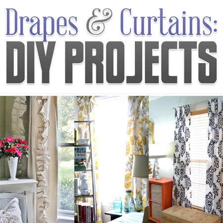 Drapes & Curtains: DIY Projects