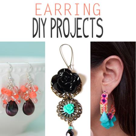 Earring DIY Projects