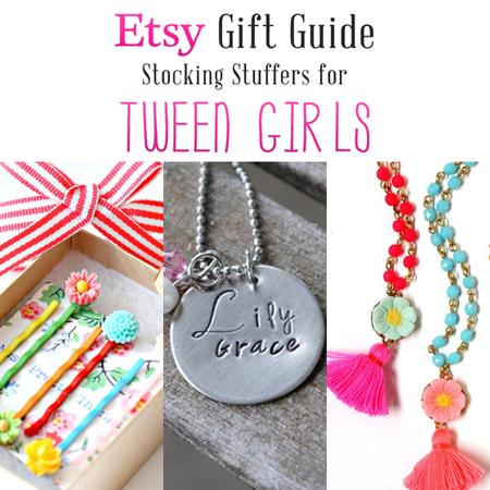 Etsy Gift Guide: Stocking Stuffers for Tween Girls