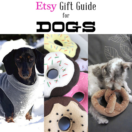 Etsy Guift Guide for Dogs