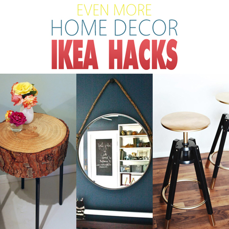 Even More Home Decor Ikea Hacks!