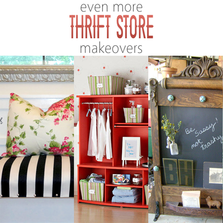 Even More Thrift Store Makeovers