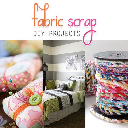 Fabric Scrap DIY Projects