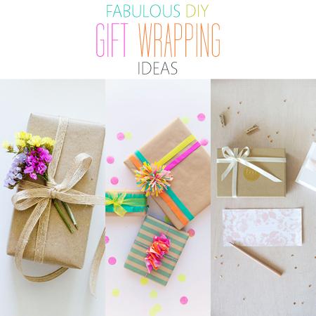 Fabulous DIY Gift Wrapping Ideas