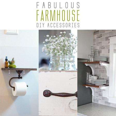 Fabulous Farmhouse DIY Accessories