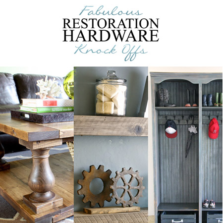 Fabulous Restoration Hardware Knock-Offs