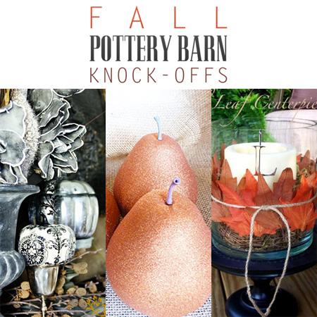 Fall Pottery Barn Knock-Offs