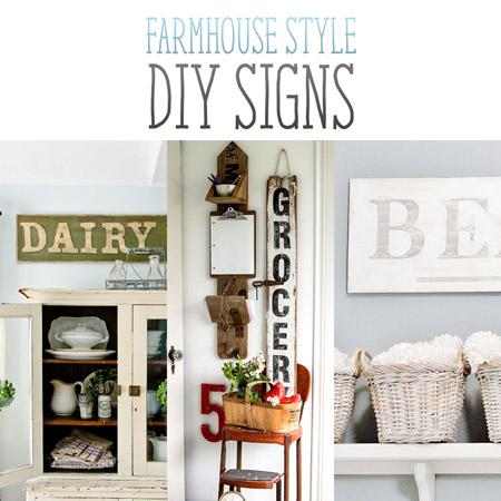 Farmhouse Style DIY Signs