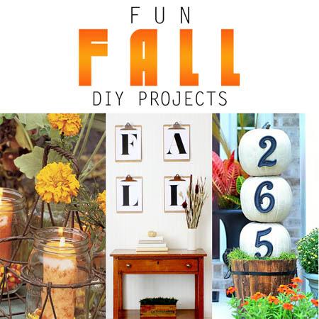 Fun Fall DIY Projects