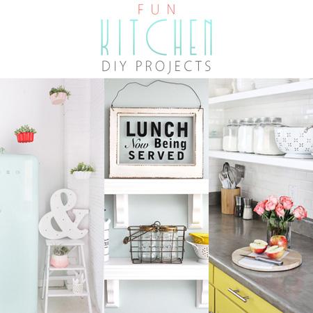 Fun Kitchen DIY Projects