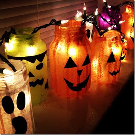 Halloween Mason Jar DIY Projects