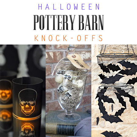 Halloween Pottery Barn Knock-Offs