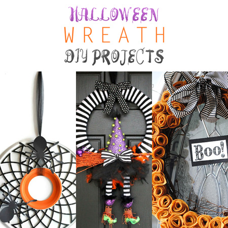Halloween Wreath DIY Projects
