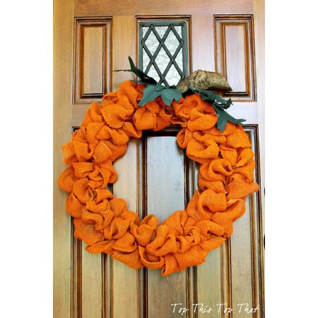 Happy Halloween Burlap DIY Projects
