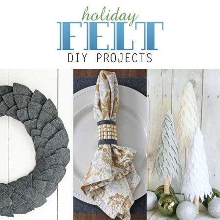 Holiday Felt DIY Projects