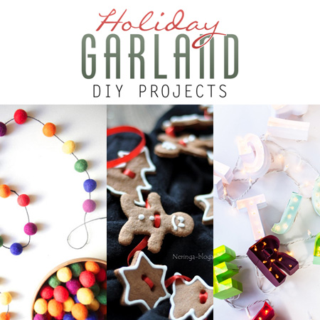 Holiday Garland DIY Projects