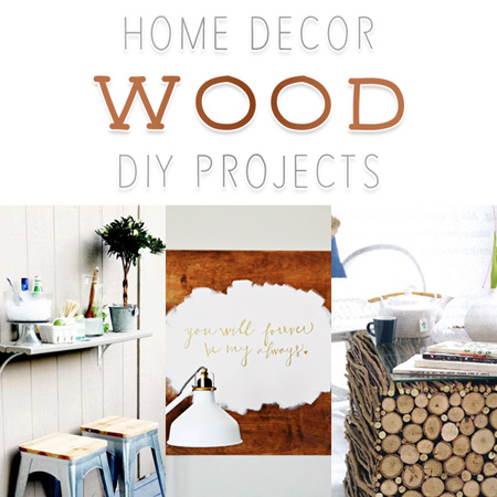 Home Decor Wood DIY Projects