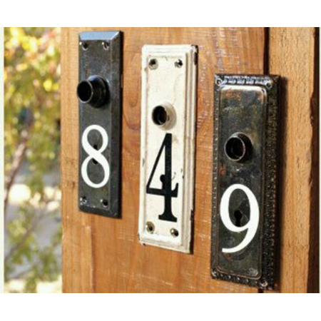House Number DIY Project 2