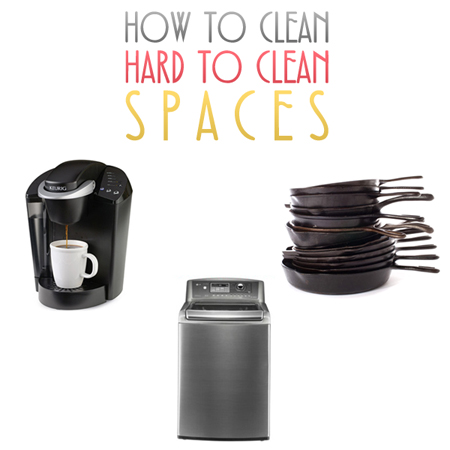 How to Clean Hard to Clean Spaces