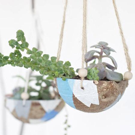 Indoor Hanging Planter DIY Project 1